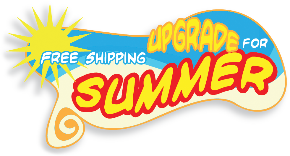 Free Shipping Upgrade For Summer